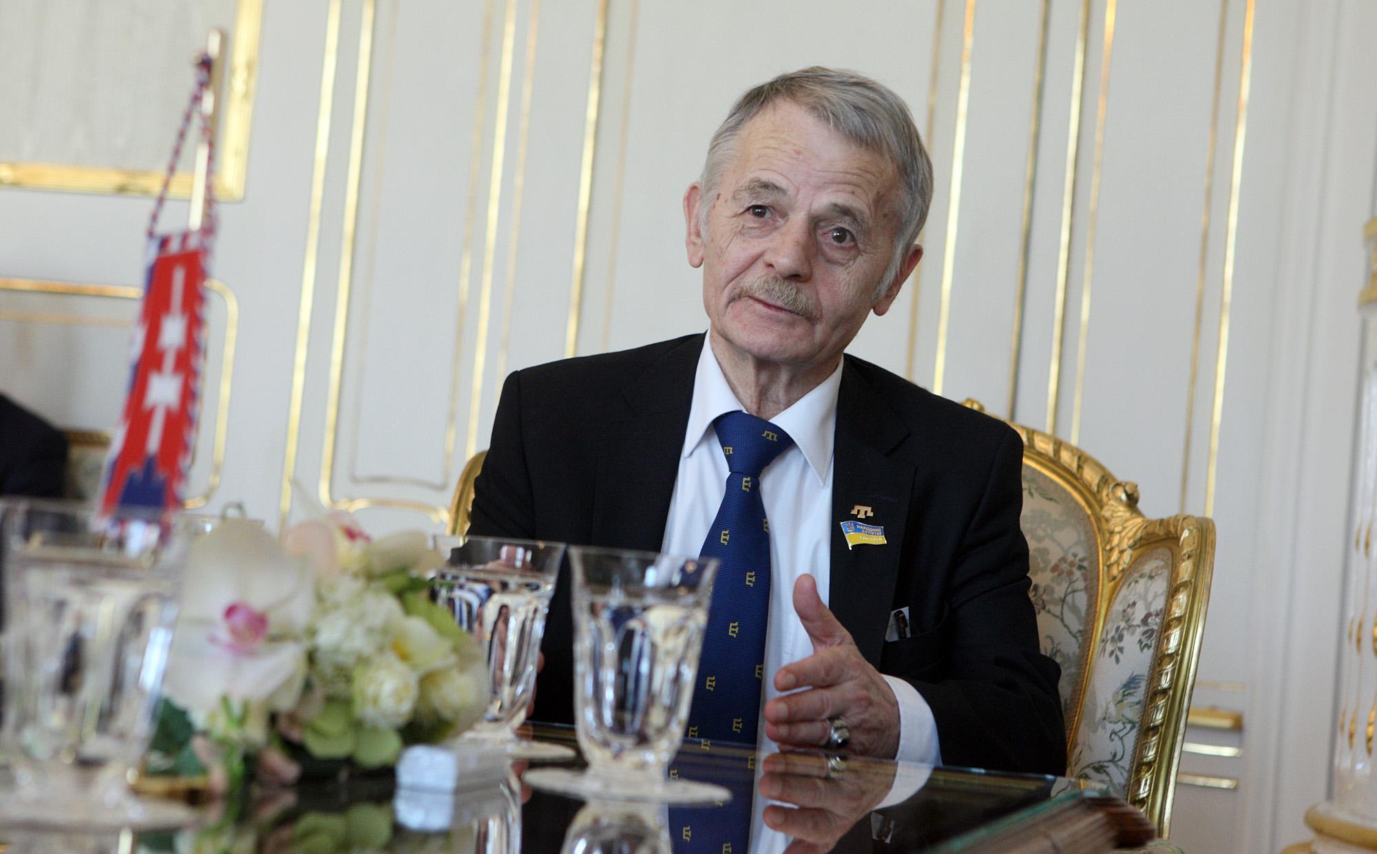 """Nothing justifies bloodshed,""Mustafa Dzhemilev at PDCS conference"