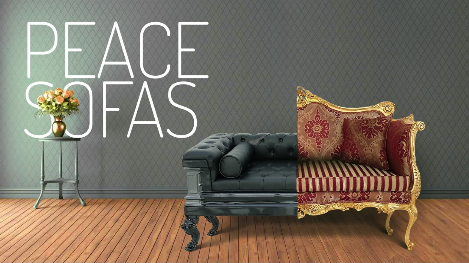 Peace Sofas exhibition